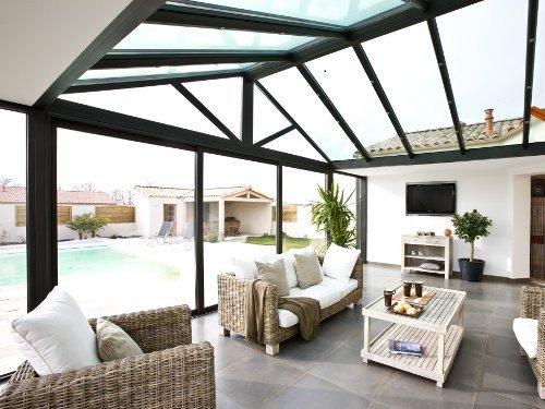 amenagement d 39 une veranda veranda. Black Bedroom Furniture Sets. Home Design Ideas