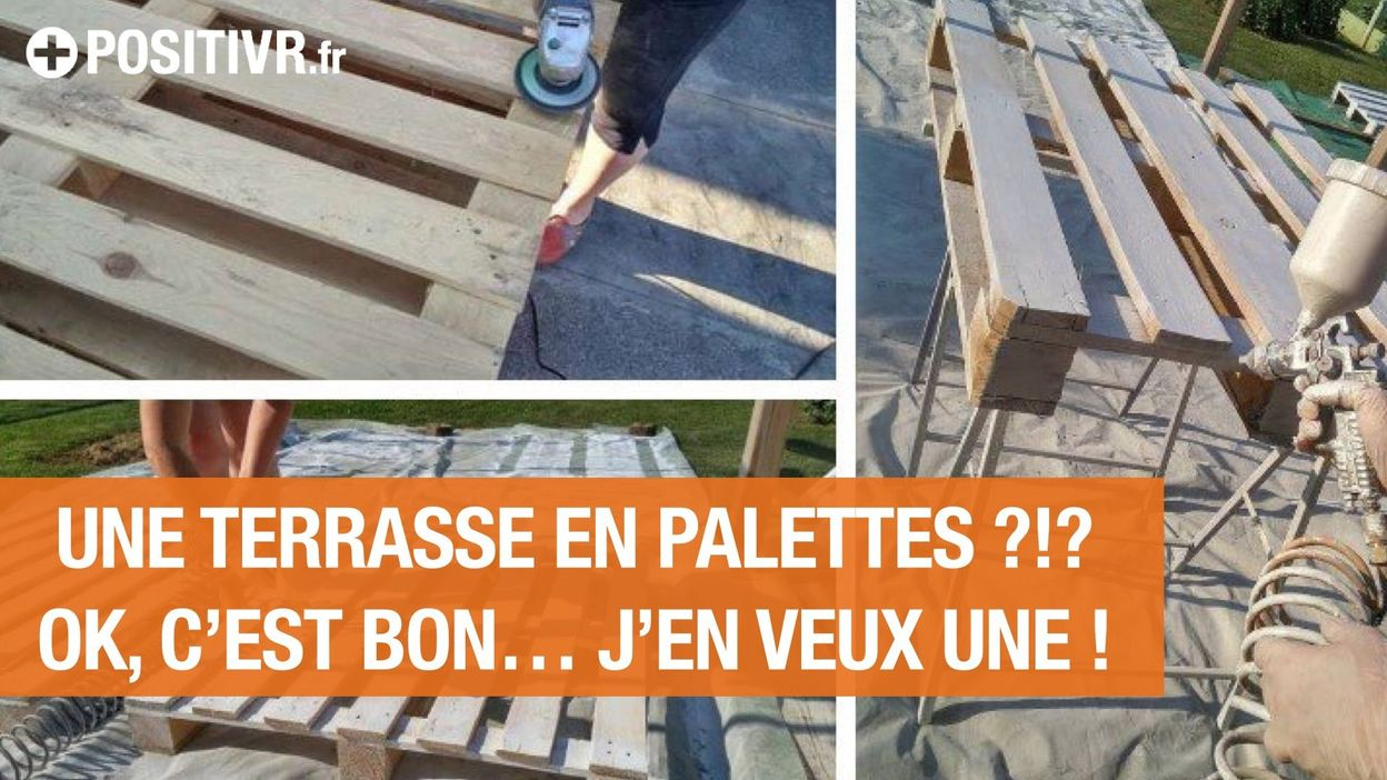 Fabriquer terrasse avec palettes - veranda-styledevie.fr