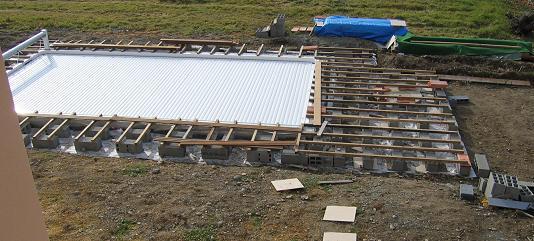 Fabrication terrasse bois piscine veranda - Fabriquer une piscine en bois ...