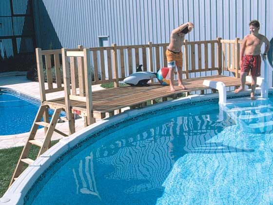 Kit terrasse piscine hors sol