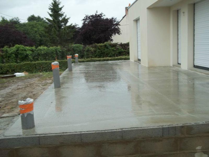 Terrasse En Beton Comment Faire Veranda Styledevie Fr