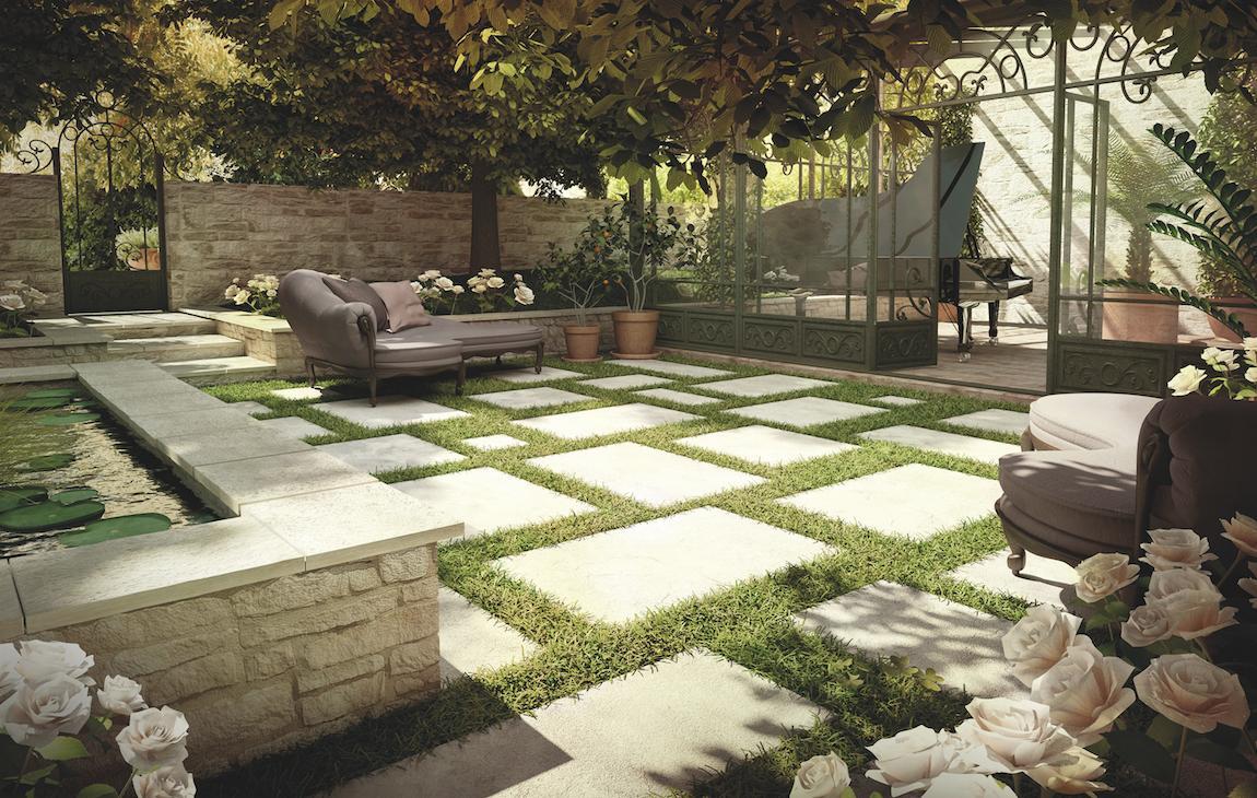 Dalle terrasse fine - veranda-styledevie.fr