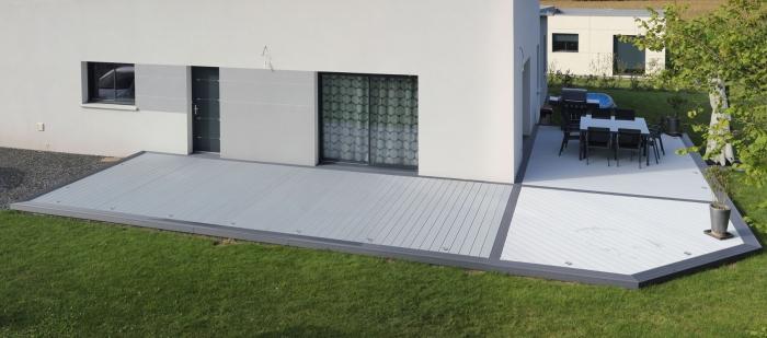 Kit de terrasse composite