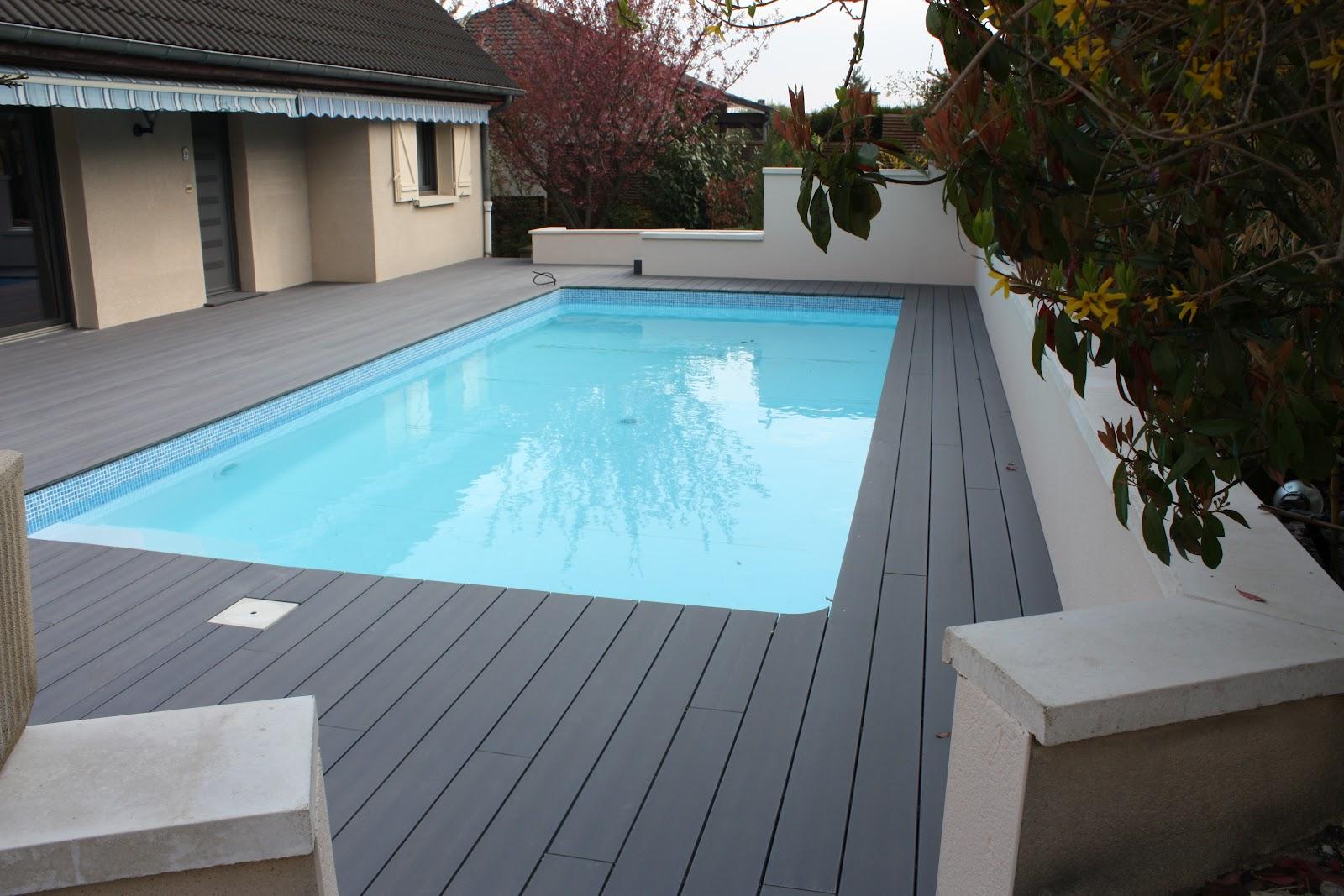 Terrasse Bois Composite Noir Veranda Styledevie Fr