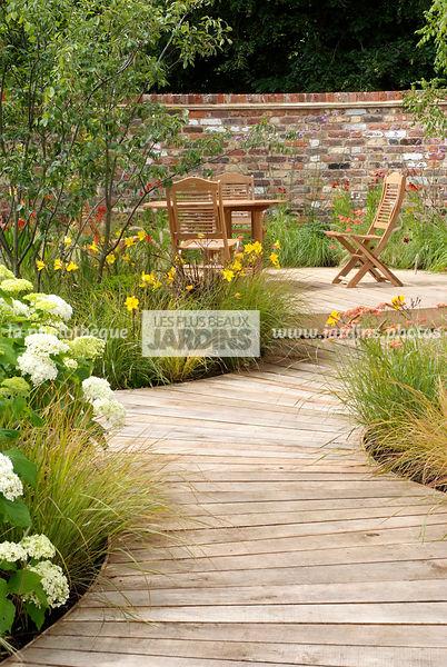 Terrasse bois en anglais - veranda-styledevie.fr