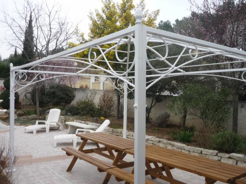 Terrasse jardin en fer