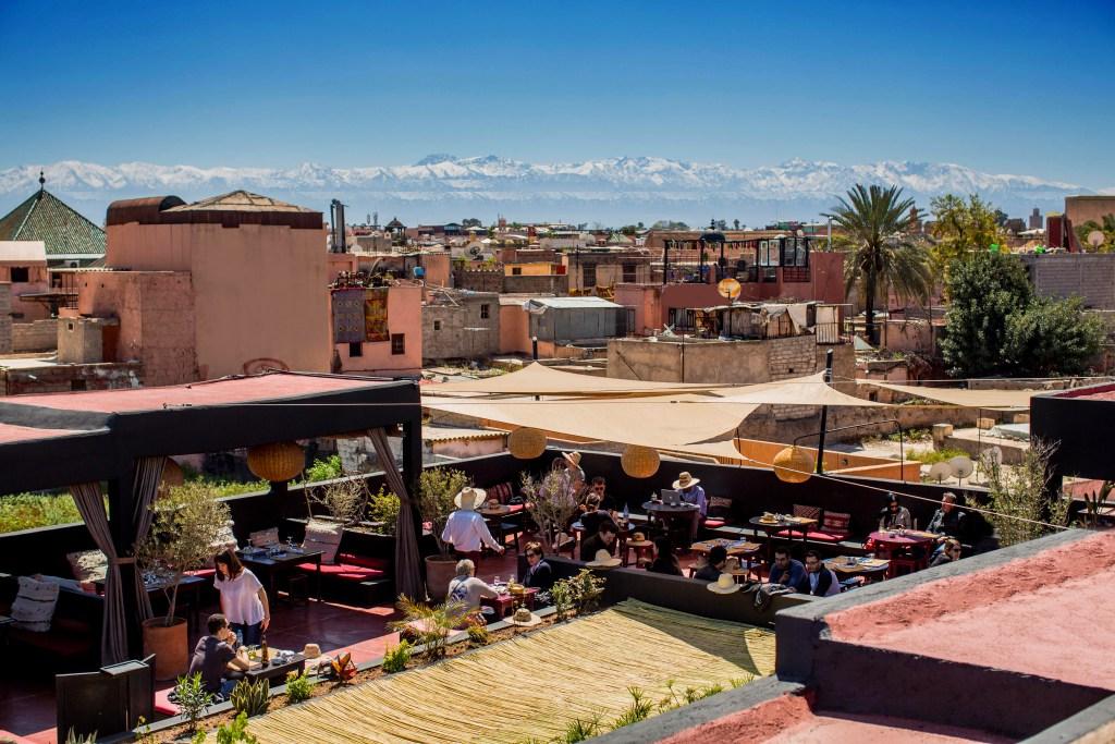 Terrasse Des Epices Marrakech Veranda Styledevie Fr