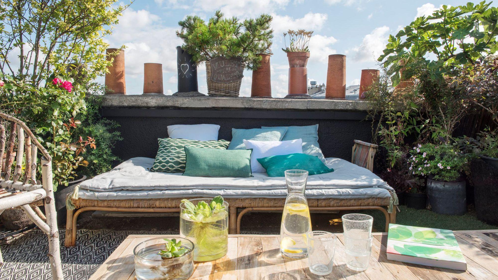 Idee terrasse amenagee - veranda-styledevie.fr