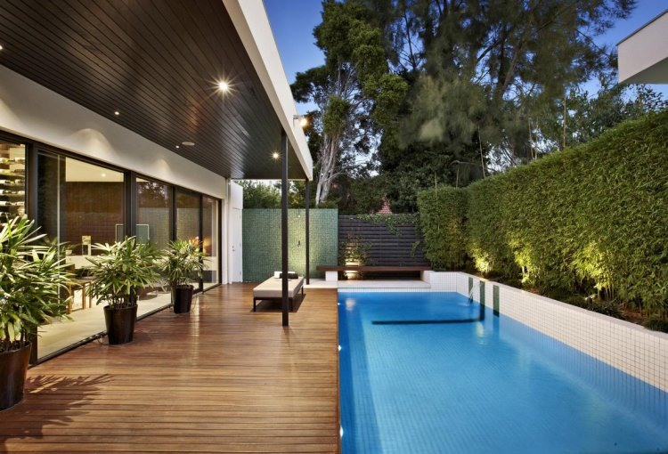 idee terrasse avec piscine veranda. Black Bedroom Furniture Sets. Home Design Ideas