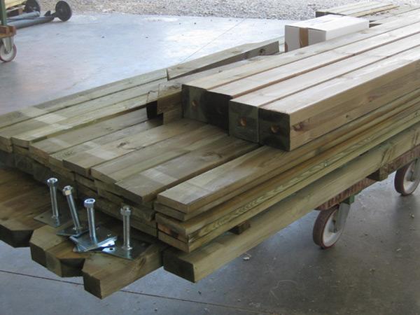 Kit de terrasse en bois