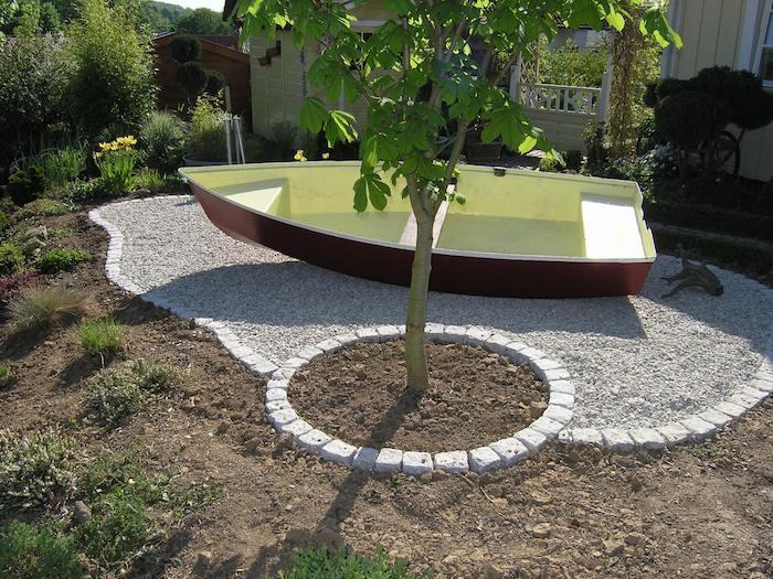 Bordure terrasse galets veranda - Bordure bois pour jardin ...