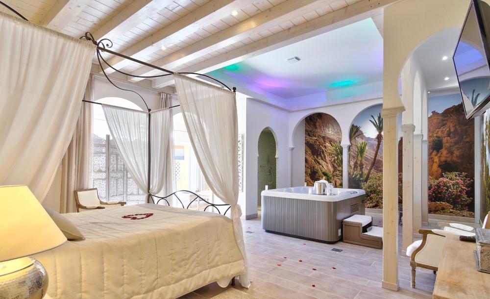 Chambre avec terrasse jacuzzi - veranda-styledevie.fr