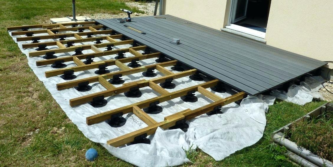 Terrasse en kit bois castorama - veranda-styledevie.fr
