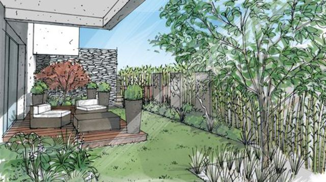 Beautiful Terrasse Et Jardin Fleuri Images - House Design ...