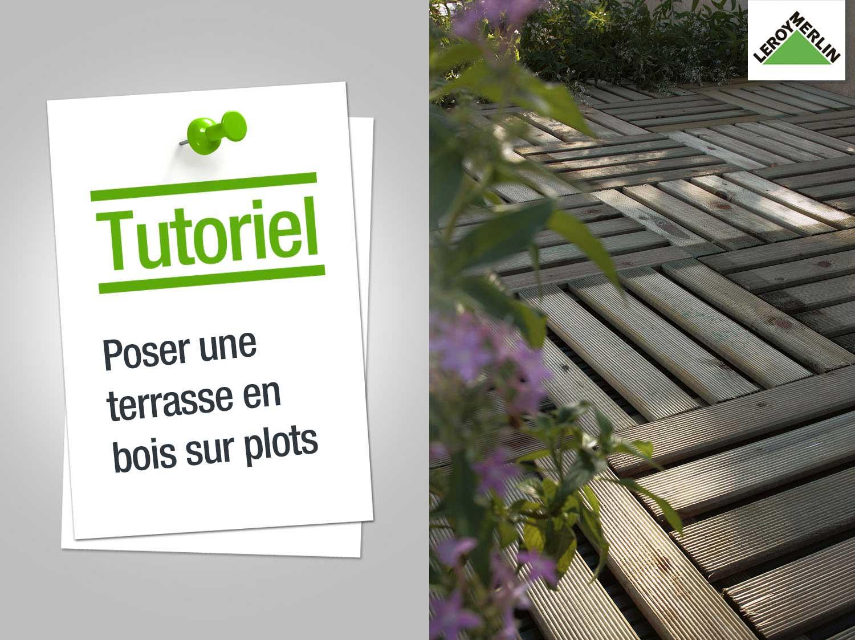 pose terrasse bois sur dalle beton avec plot veranda. Black Bedroom Furniture Sets. Home Design Ideas