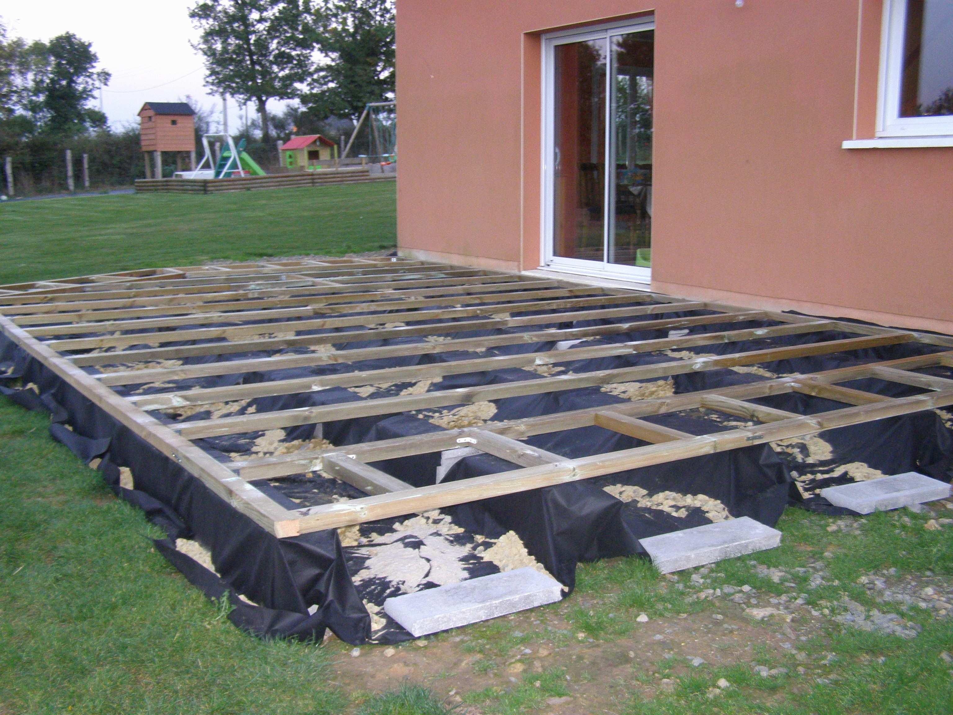 comment poser une terrasse en composite Comment installer terrasse en bois composite