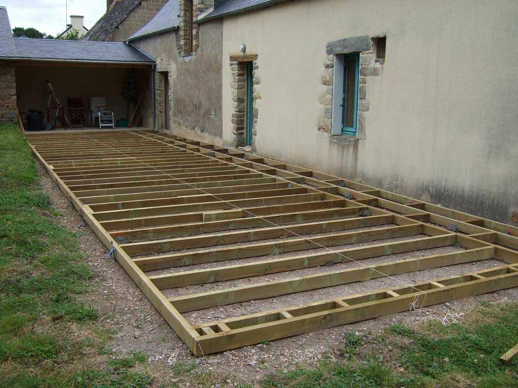 Terrasse en bois a faire soi meme - veranda-styledevie.fr