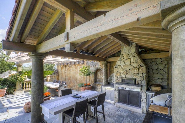 Terrasse couverte - veranda-styledevie.fr