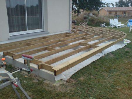 terrasse beton ou bois veranda. Black Bedroom Furniture Sets. Home Design Ideas