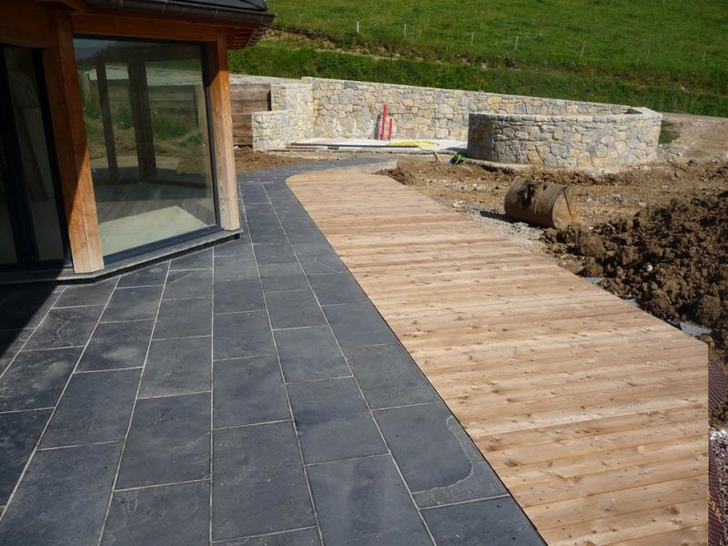 Dallage Terrasse Granit Veranda Styledevie Fr