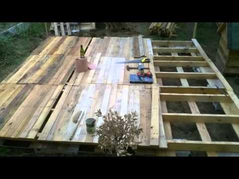 mod le terrasse en palette veranda. Black Bedroom Furniture Sets. Home Design Ideas