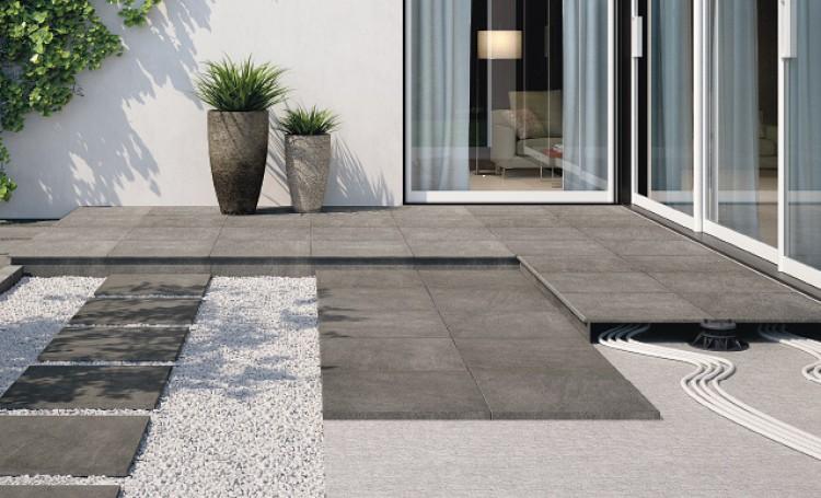 pose gravier sur terrasse en beton veranda. Black Bedroom Furniture Sets. Home Design Ideas