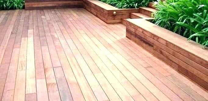 Terrasse en bois brico