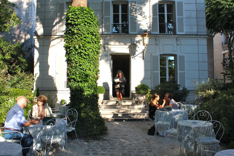 Hotel particulier paris terrasse