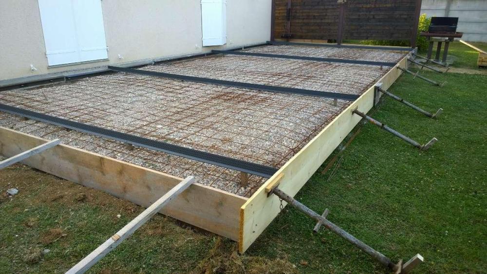 Dalle beton terrasse joint de dilatation - veranda-styledevie.fr