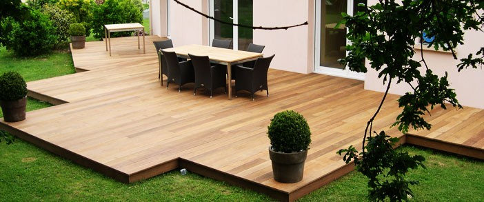 Kit terrasse bois composite