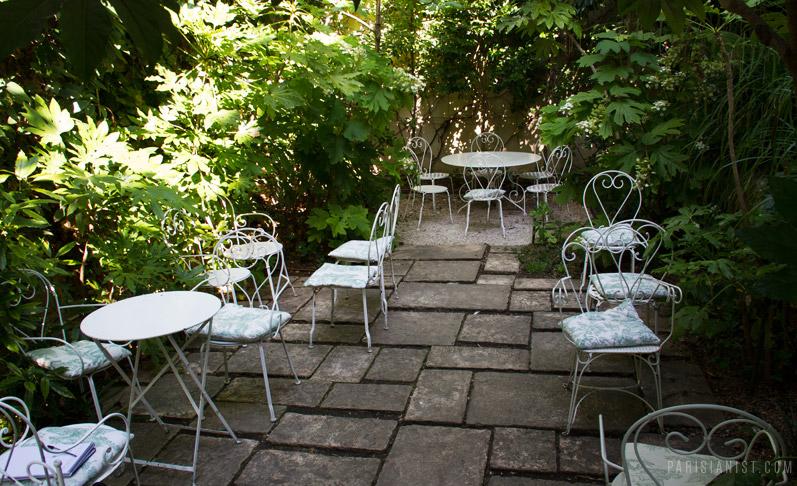 Terrasse Hotel Particulier Montmartre Veranda Styledevie Fr