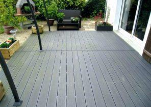terrasse design composite veranda. Black Bedroom Furniture Sets. Home Design Ideas