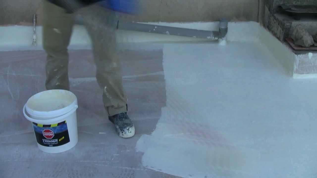 peindre terrasse beton exterieur video veranda. Black Bedroom Furniture Sets. Home Design Ideas