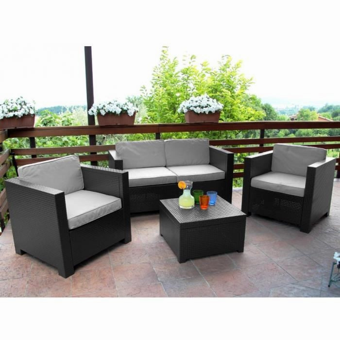 mobilier jardin terrasse pas cher veranda. Black Bedroom Furniture Sets. Home Design Ideas