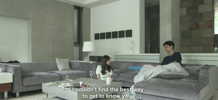 Terrace house is scripted
