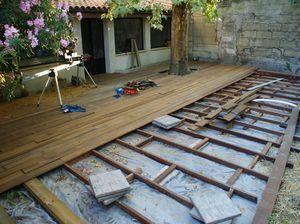 Merveilleux Terrasse Composite Sur Parpaing