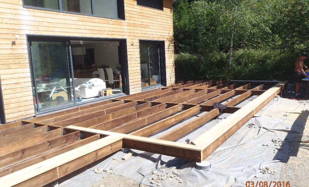 Bon Terrasse En Bois Construction