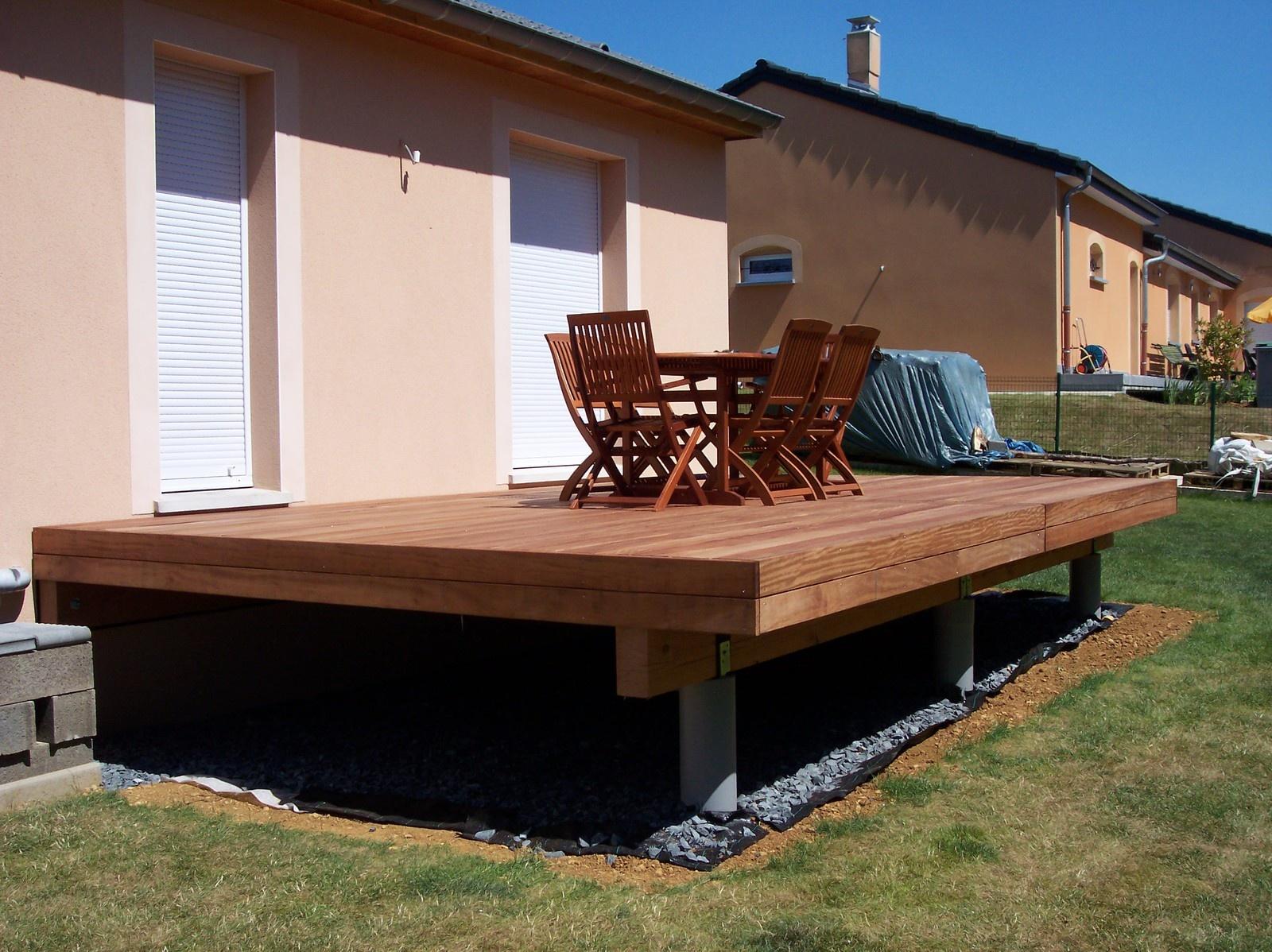 terrasse en hauteur permis de construire veranda. Black Bedroom Furniture Sets. Home Design Ideas