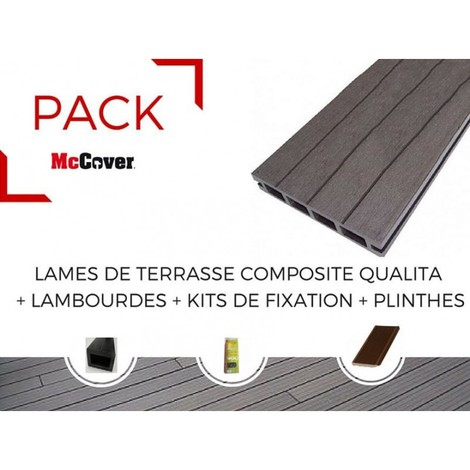 Kit fixation terrasse composite