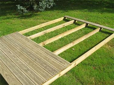 Kit installation terrasse