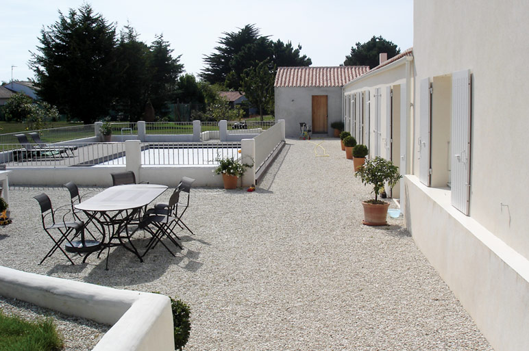 Terrasse Avec Du Gravier Veranda Styledevie Fr