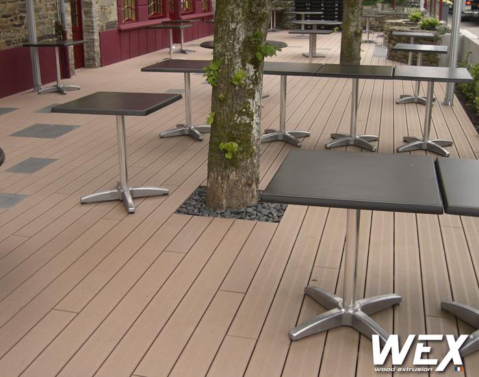 Terrasse en bois composite ou bois veranda - Terrasse en bois ou composite ...
