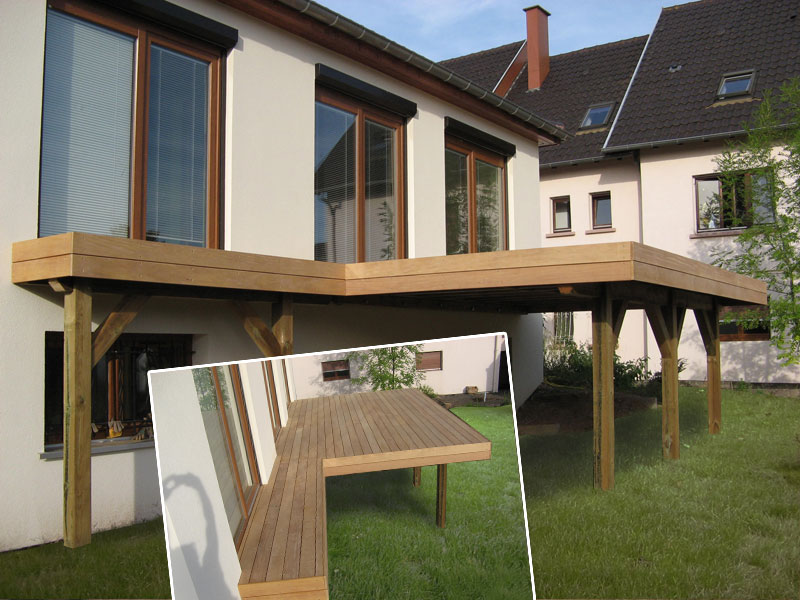 Kit terrasse bois alsace