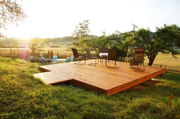 Best Terrasse En Bois Salon De Jardin Photos - House Design ...
