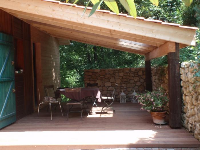 Terrasse couverte bois - veranda-styledevie.fr
