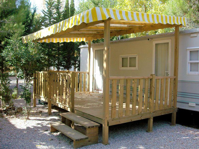 Prix D Une Terrasse En Bois Pour Mobil Home Veranda Styledevie Fr