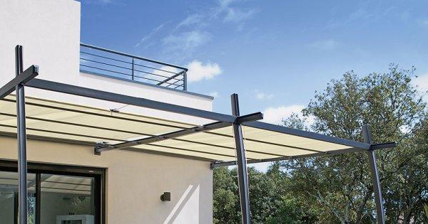 fermer une terrasse en hauteur veranda. Black Bedroom Furniture Sets. Home Design Ideas