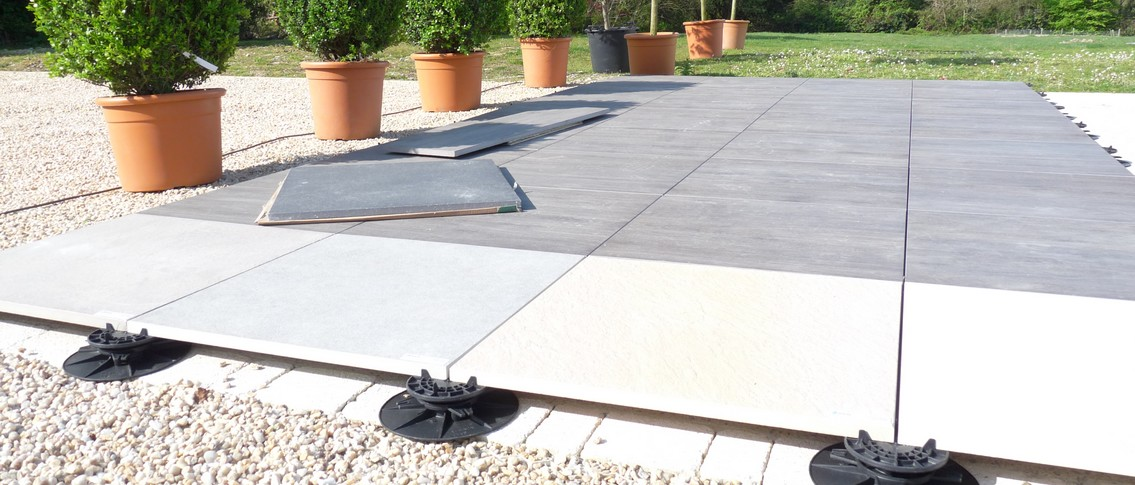 Beautiful Terrasse Jardin Sur Plots Images - House Design ...