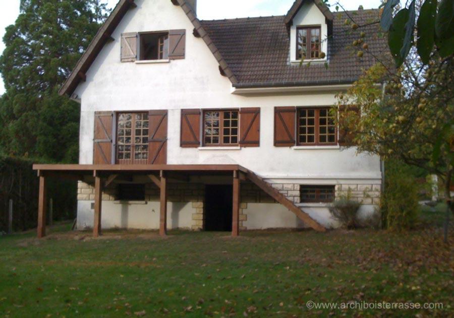 Agrandissement Terrasse En Hauteur Veranda Styledevie Fr