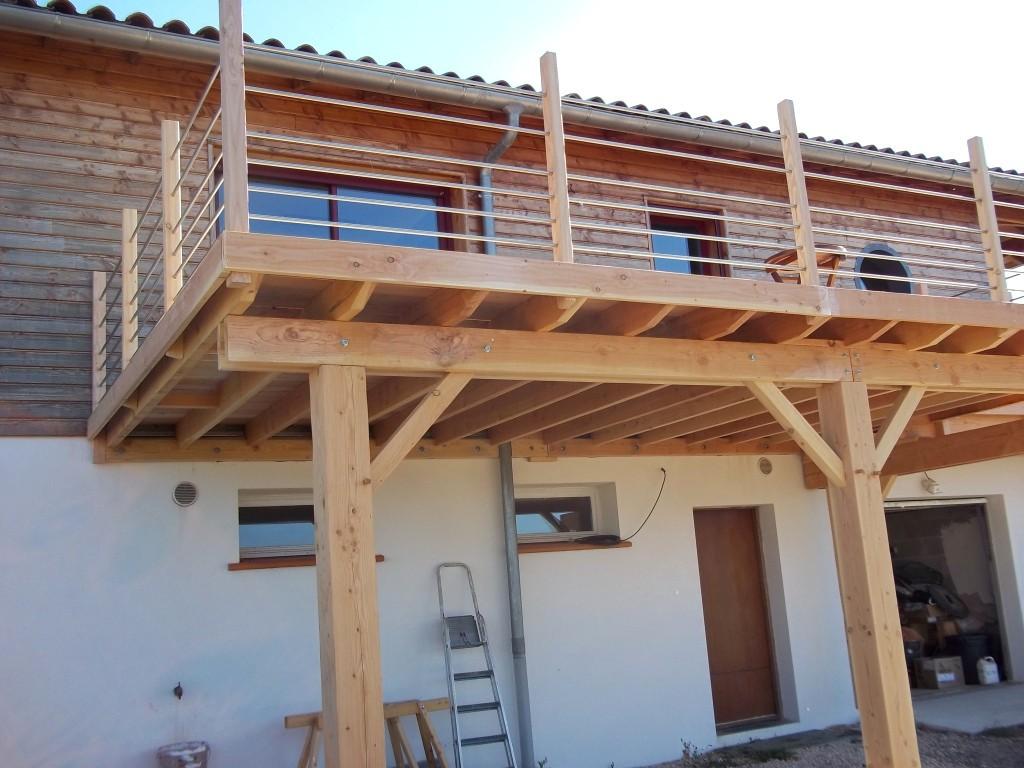Construction De Terrasse En Bois Sur Pilotis Veranda